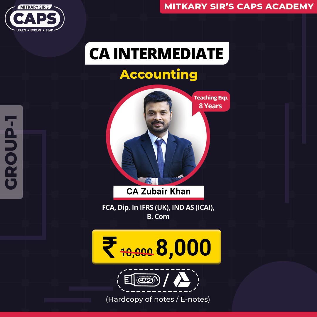 caps-ca inter accounting group 1