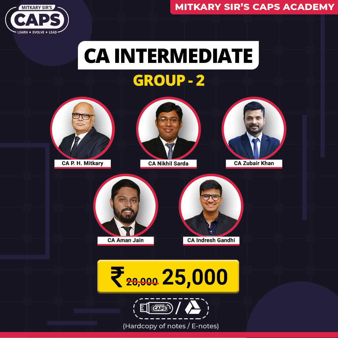 CA Inter Group 2 faculty