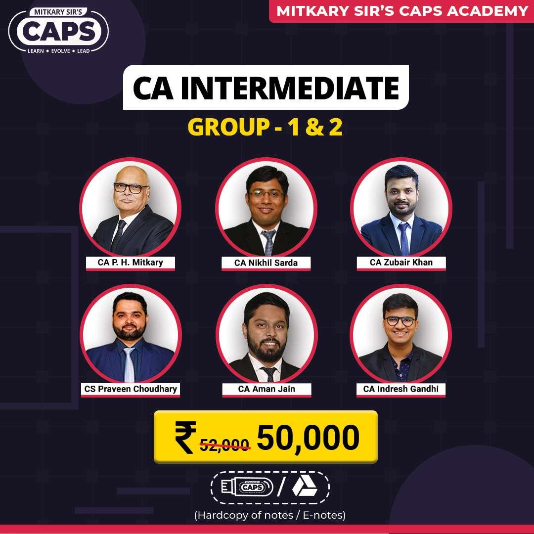 ca inter group 1&2