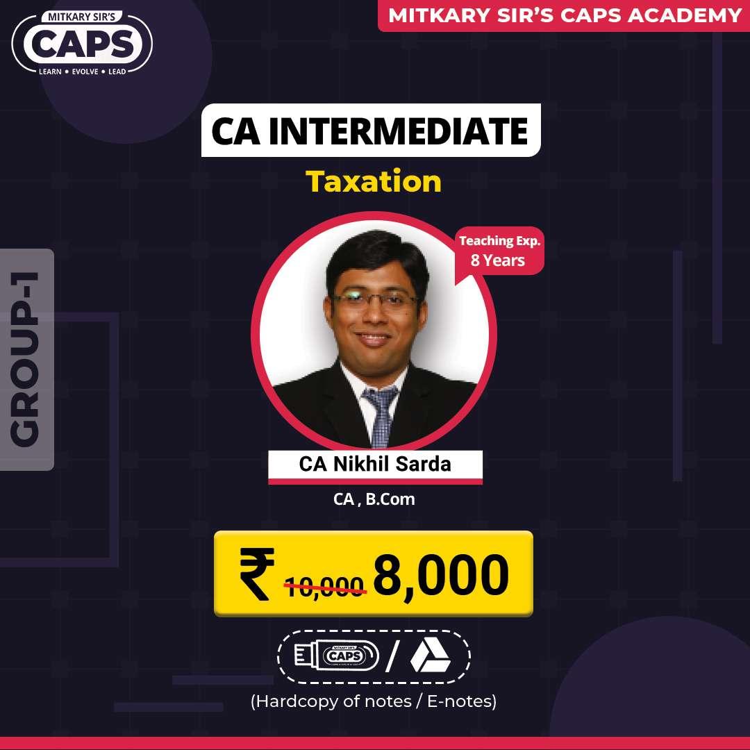 ca inter taxation