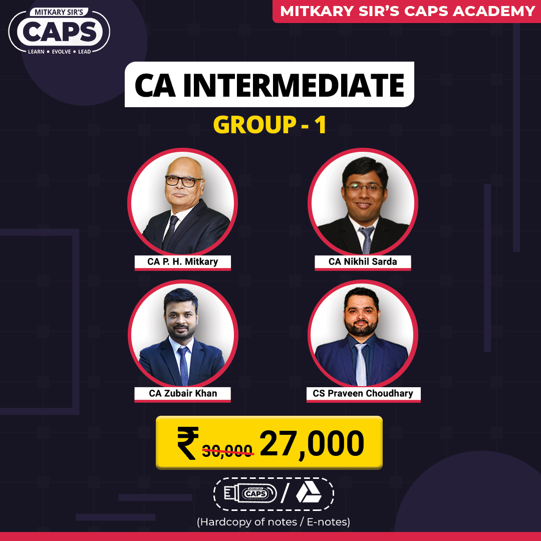 ca inter group1 faculty