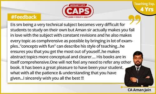caps-students-feedback CA Aman Jain 1