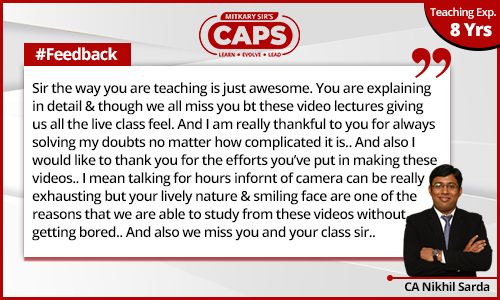 caps-students-feedback CA Nikhil 1