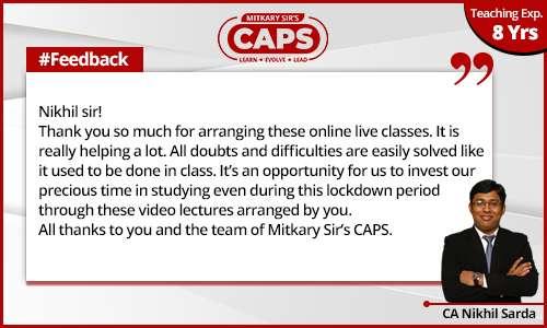 caps-students-feedback CA Nikhil 5