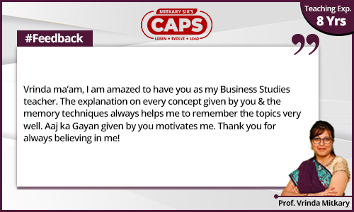 caps-students-feedback Prof. Vrinda 1