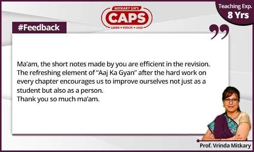 caps-students-feedback Prof. Vrinda 2