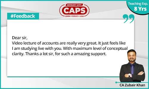caps-students-feedback CA Zubair 2