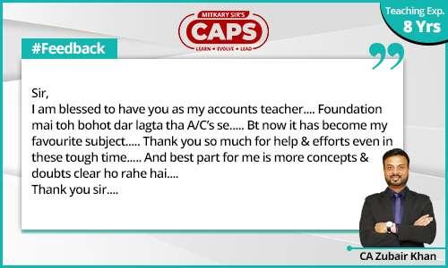 caps-students-feedback CA Zubair 3