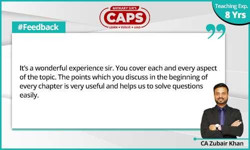 caps-students-feedback CA Zubair 5