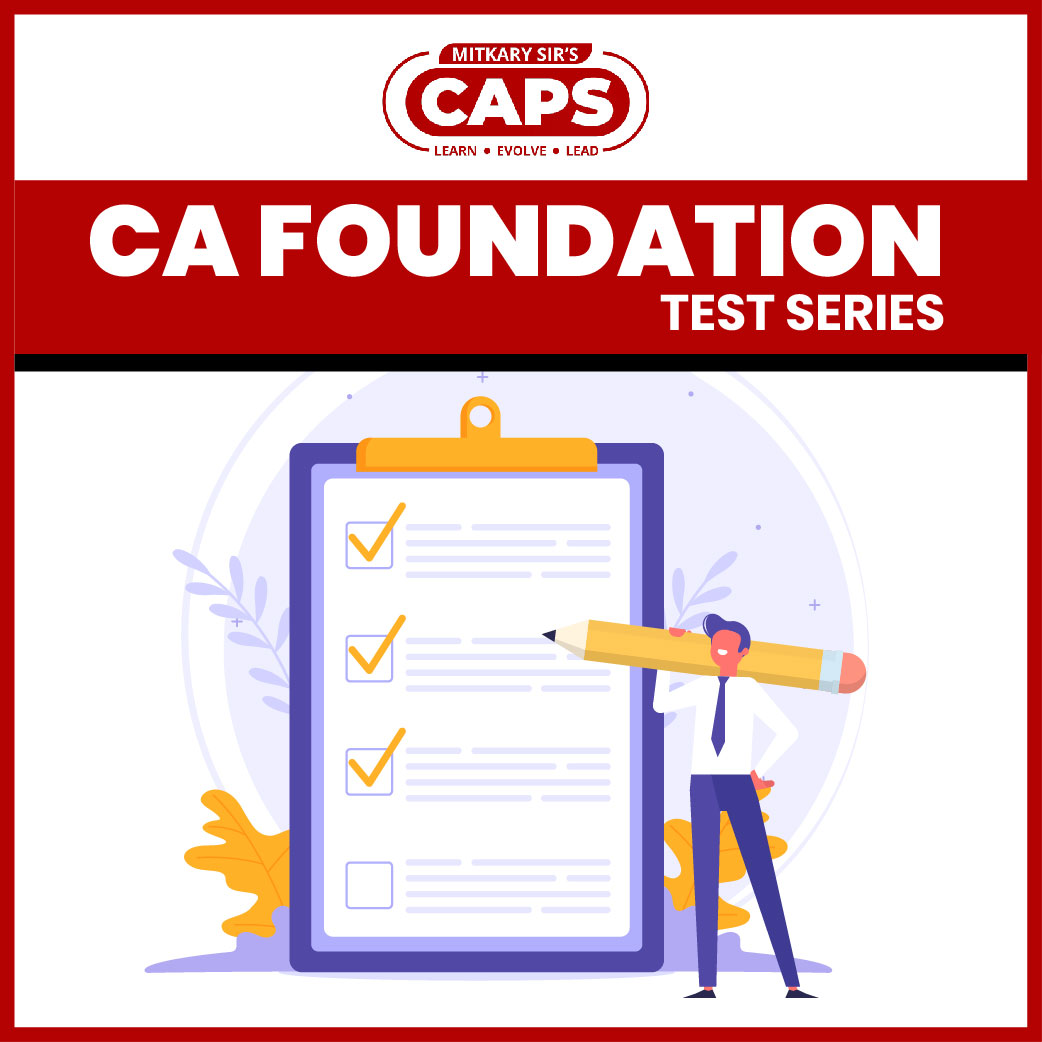 CA Foundation Test Series