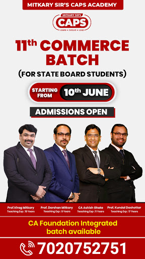 admission open 11th Commerce State Boards