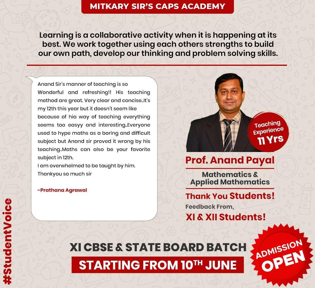 students feedback caps academy-8